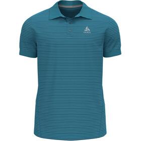 Odlo Nikko Dry Polo Shirt S/S Men, Azul petróleo